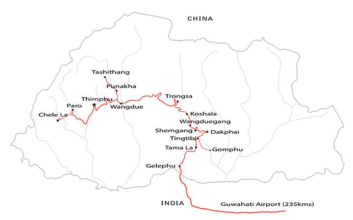 Birding in Central Western Bhutan Langur Eco Travels