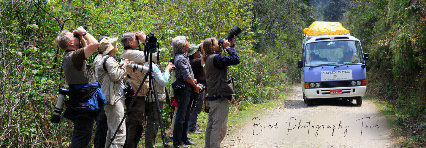 Bird photography tour in Bhutan with one of the best nature tour company in Bhutan